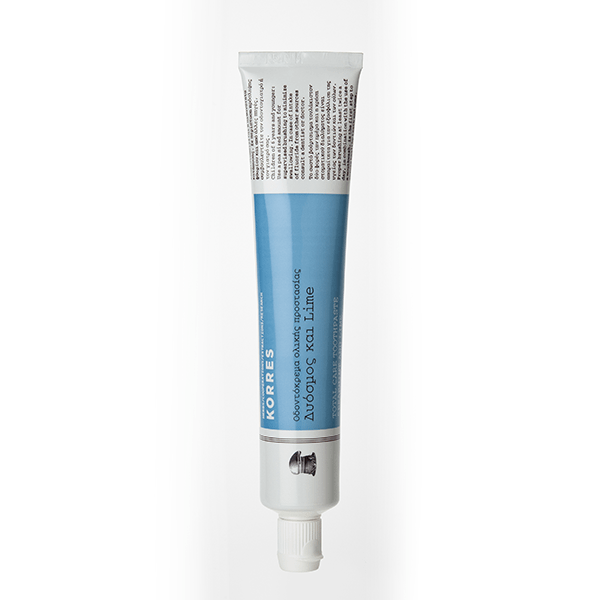 Zubní pasta Korres s mátou a limetkou - 75 ml