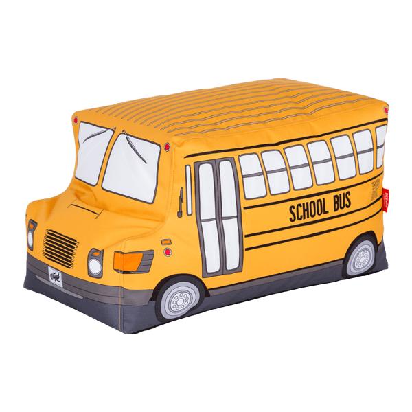 Dětský sedací vak Woouf! School Bus