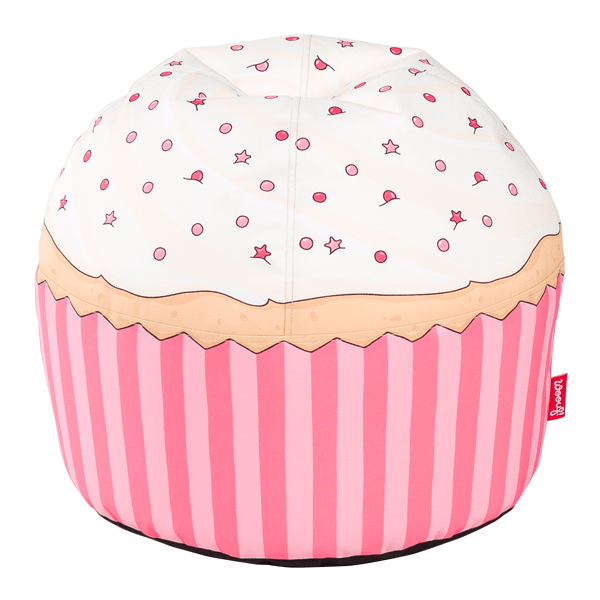 Dětský sedací vak Woouf! Cherry Cupcake