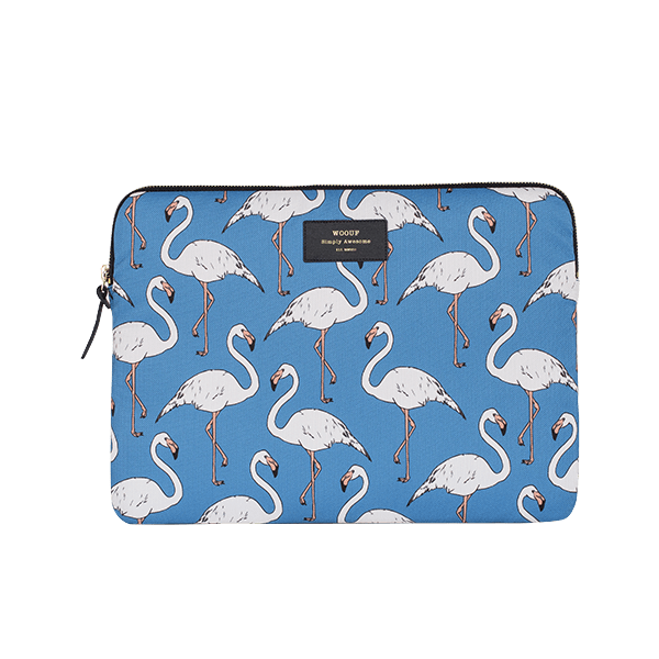Pouzdro na iPad Air- Flamingo