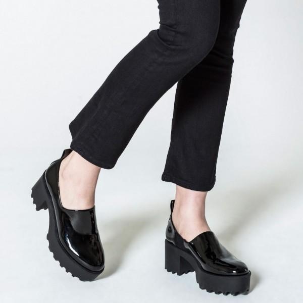 Černé boty Latch low 36