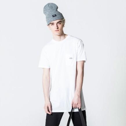 Bílé tričko Dragged S