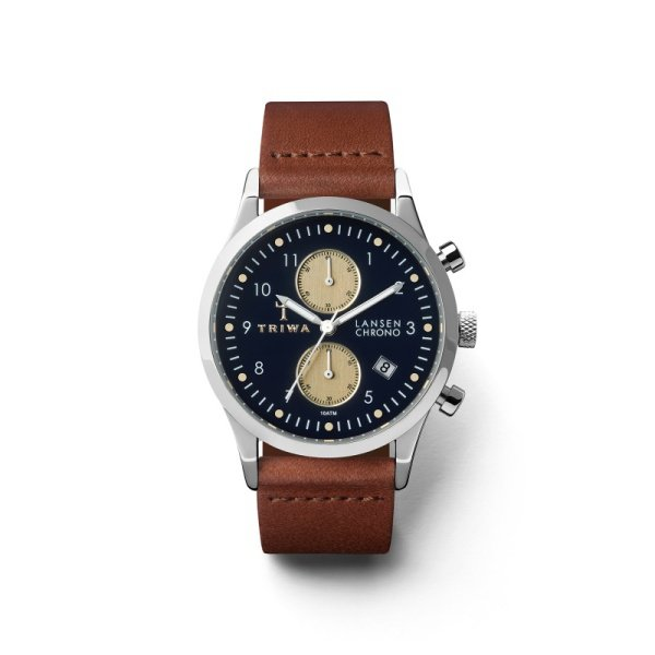 Hodinky Pacific Lansen Chrono - Brown Classic