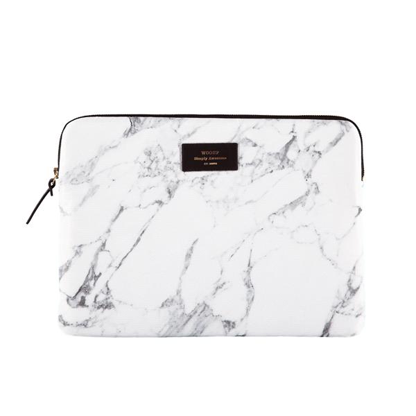Pouzdro na iPad Air - White marble