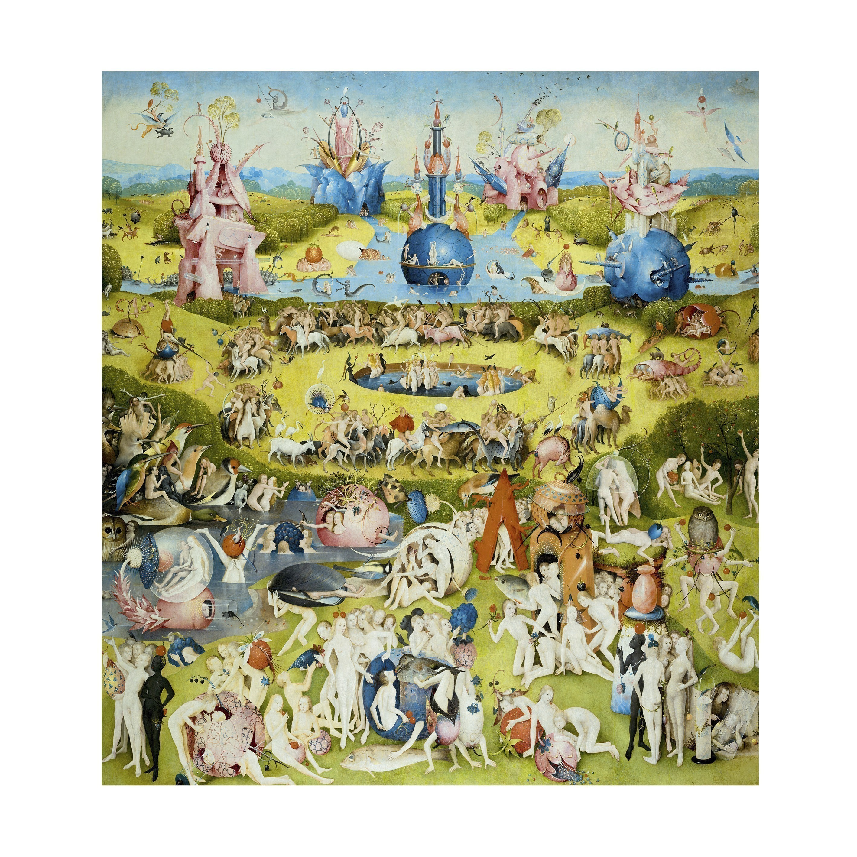 IXXI Skládaný obraz IXXI – The garden of earthly delights M