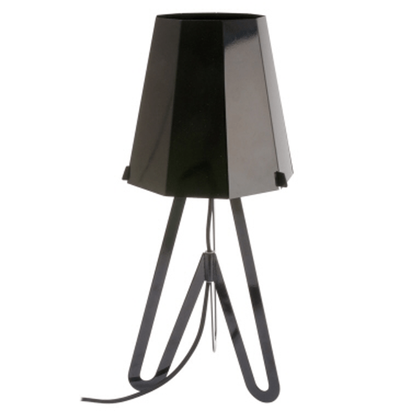 Stolní lampa Flow – černá