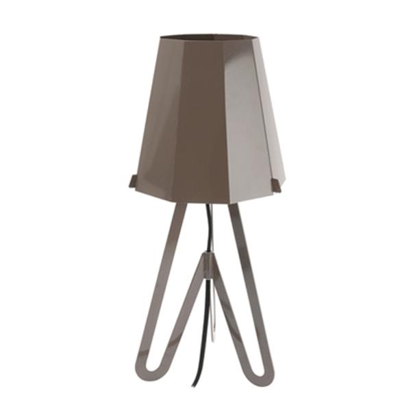 Stolní lampa Flow – šedá