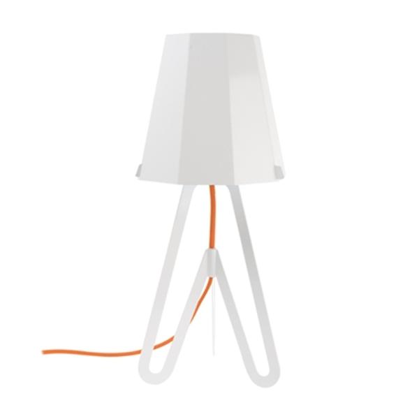 Stolní lampa Flow – bílá
