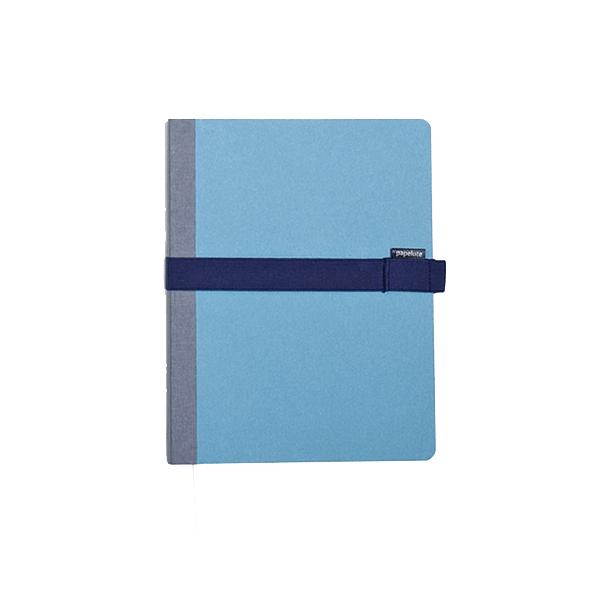 Blok Kombiné B6 s modrou gumičkou – modrý