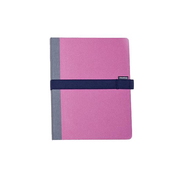 Blok Kombiné B6 s modrou gumičkou – růžový