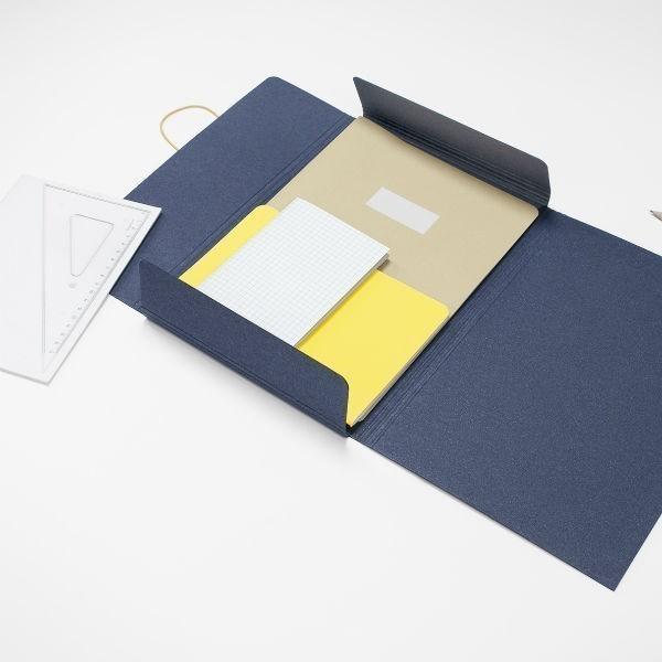 Desky Foldo A4 – modré
