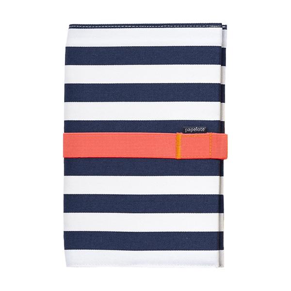 Zápisník - modrý pruh - úzké linky
