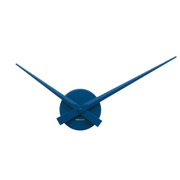 Nástěnné hodiny Little Big Time Mini - modré