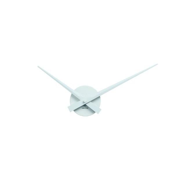 Nástěnné hodiny Little Big Time Mini - bílé