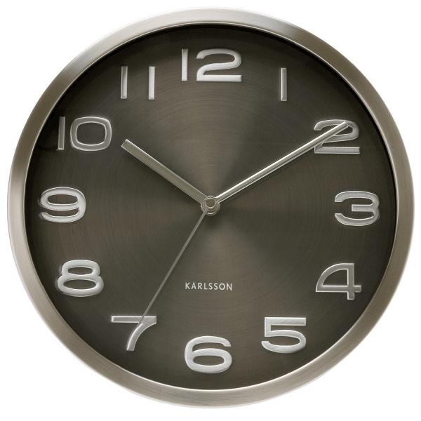 Nástěnné hodiny Maxie - černé