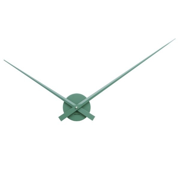 Nástěnné hodiny Little Big Time Velké – zelené