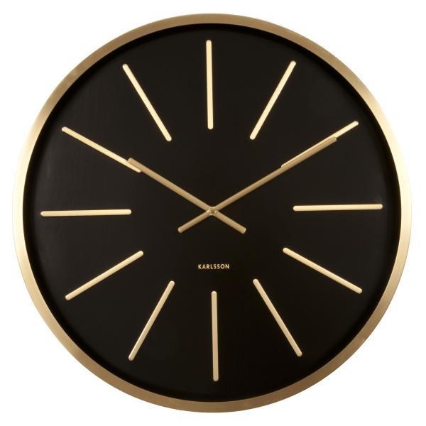 Nástěnné hodiny Maxiemus - černé