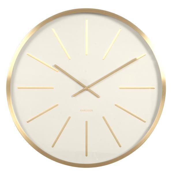 Nástěnné hodiny Maxiemus – bílé