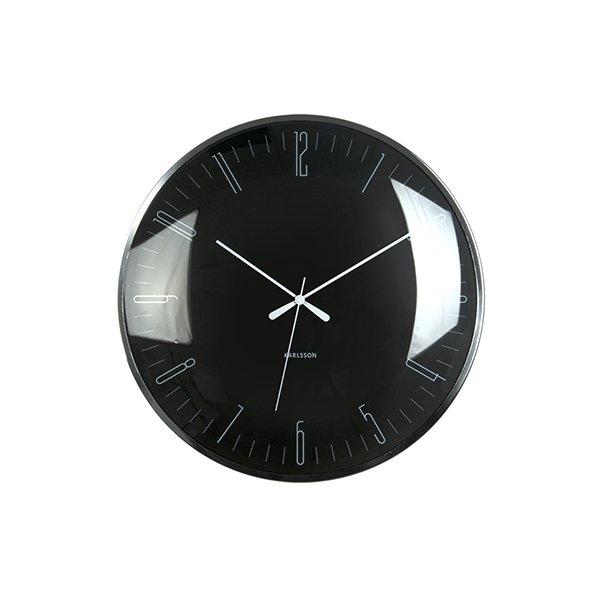 Nástěnné hodiny Dragonfly - černé