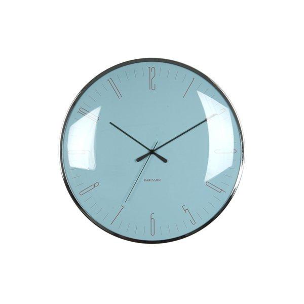 Nástěnné hodiny Dragonfly - modré