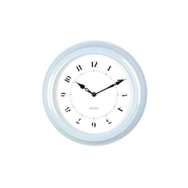 Nástěnné hodiny Fifties - modré