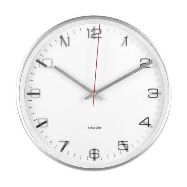Nástěnné hodiny Hologram - bílé