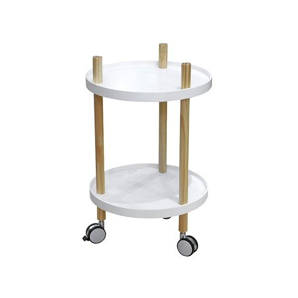 Kuchyňský stolek Fushion - kulatý