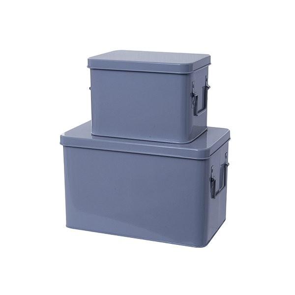 Set krabic - šedý