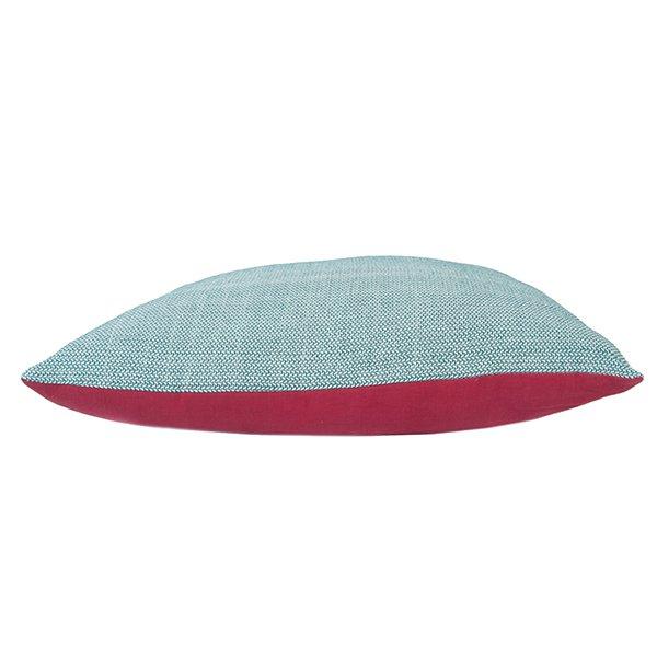 Velký polštář Melange čtvercový - červený