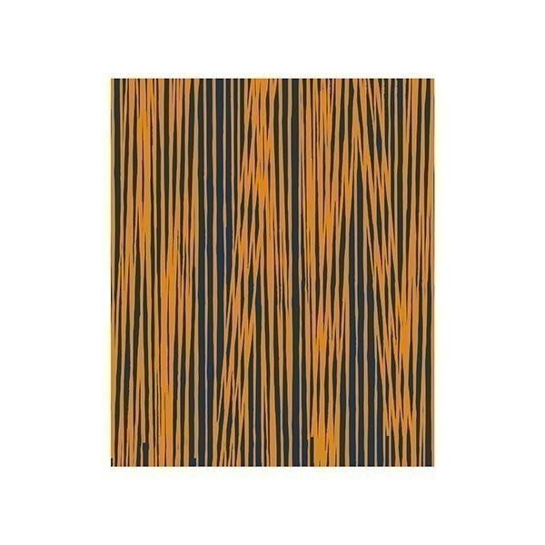 Deka Oblique Lines – modrožlutá