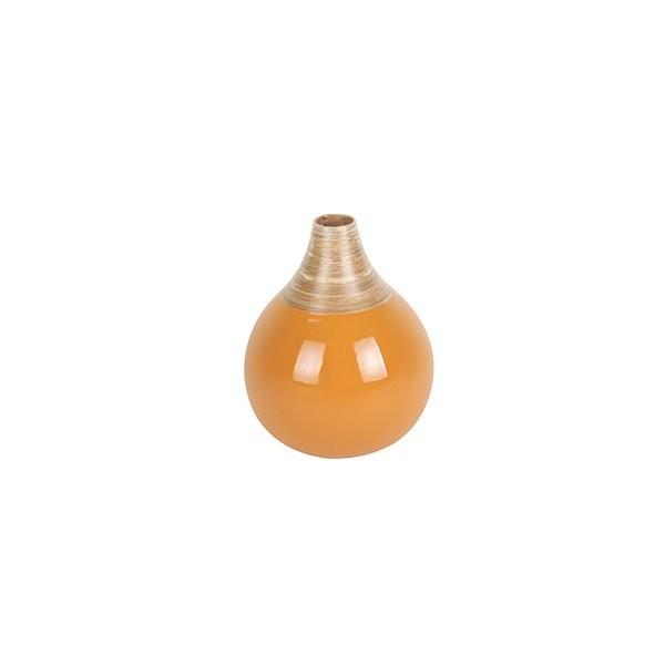 Dekorační váza Bamboo Bell S - žlutá