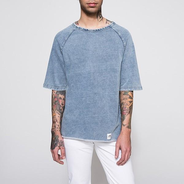 Modré tričko Disjoin Cheap Monday S