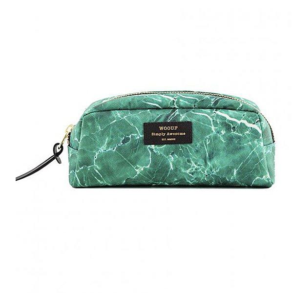 Kosmetická taštička – Green marble