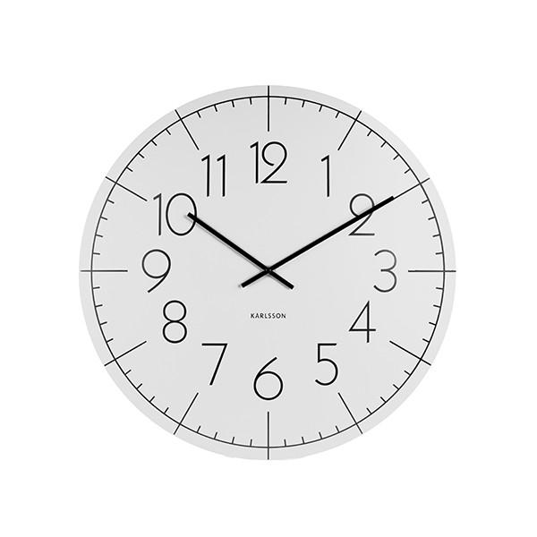 Nástěnné hodiny Blade XL - bílé