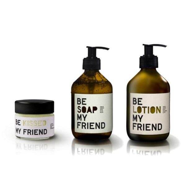 Kosmetická sada – Be soap & lotion & kissed my friend