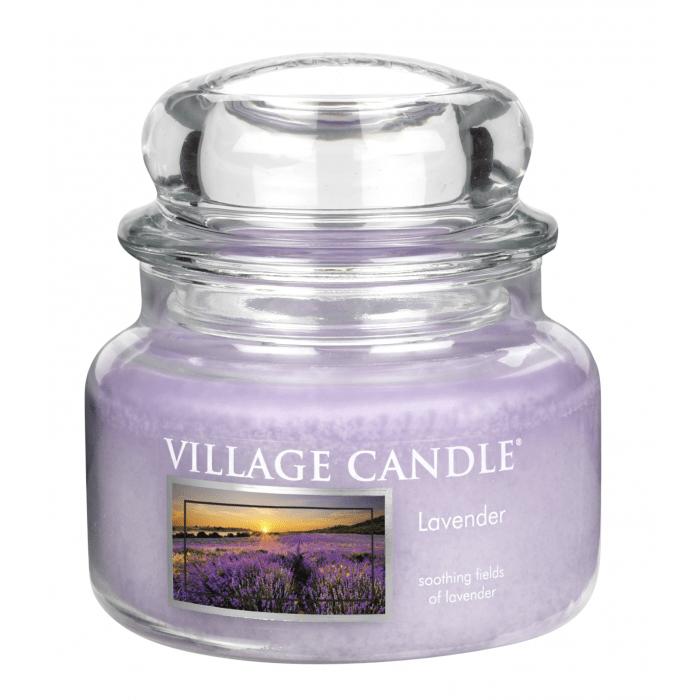 Vonná svíčka ve skle Levandule Village candle