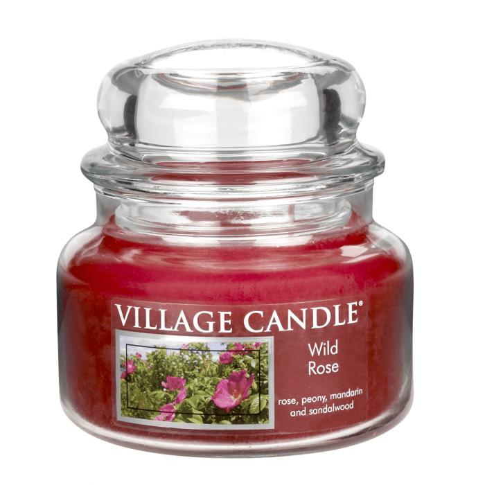 Vonná svíčka ve skle Divoká růže