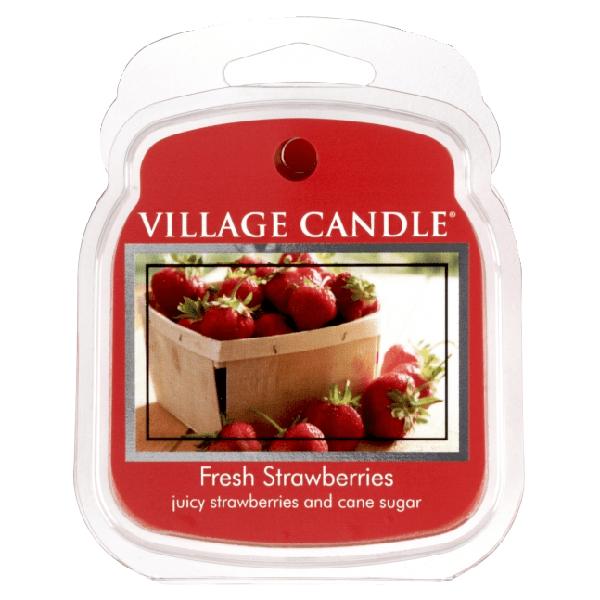 Vosk do aromalamp Čerstvé jahody Village candle