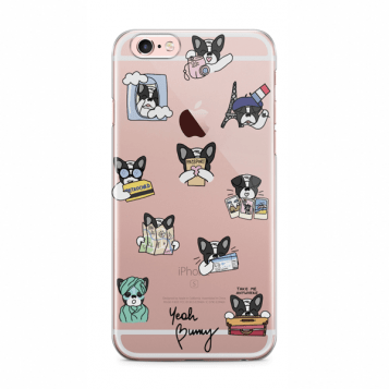 Kryt Yeah Bunny na iPhone 6/6s - Travel Bimber