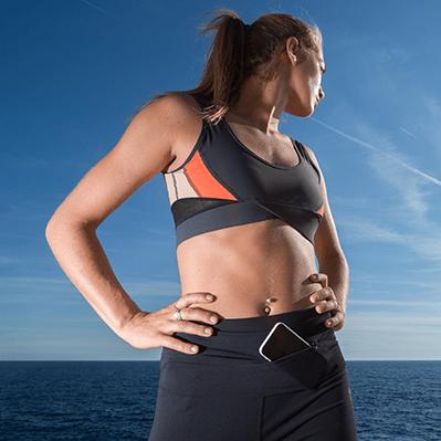 Černá sportovní podprsenka Ellasweet - Lena - XS