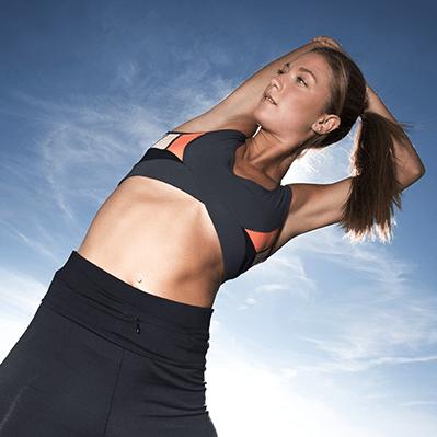 Černá sportovní podprsenka - Lena - S