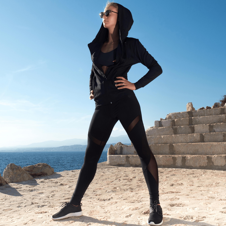 Černé legíny - Ana - L