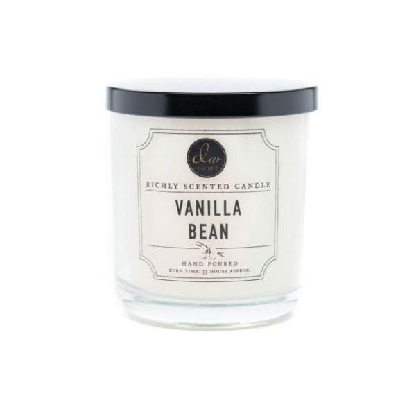 Vonná svíčka ve skle Lahodná vanilka malá DW Home