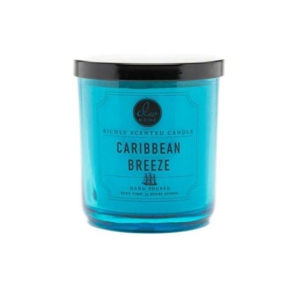 Vonná svíčka ve skle Karibský vánek malá DW Home