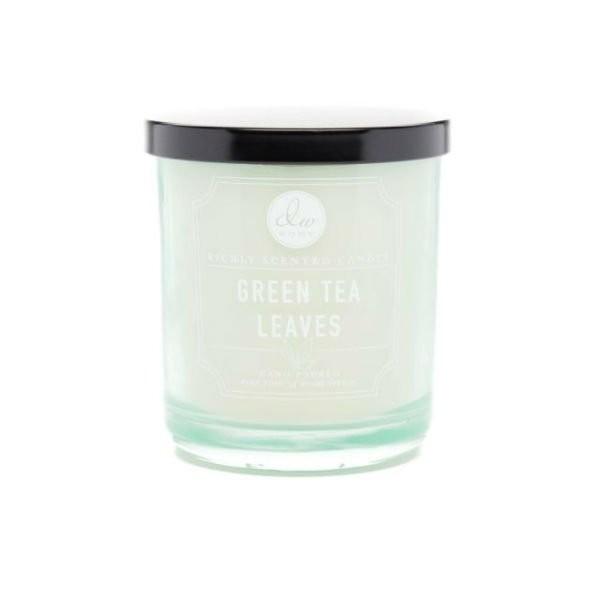 Vonná svíčka ve skle Zelený čaj malá DW Home