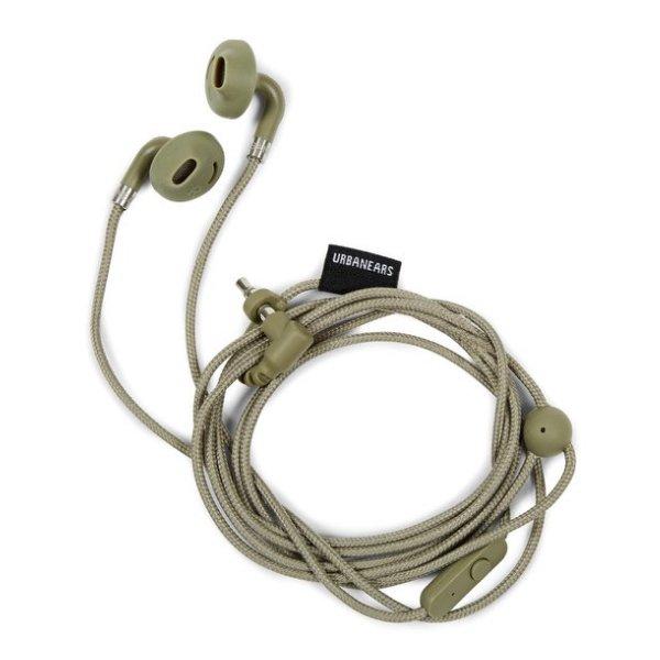 Sluchátka URBANEARS SUMPAN - tmavě zelené