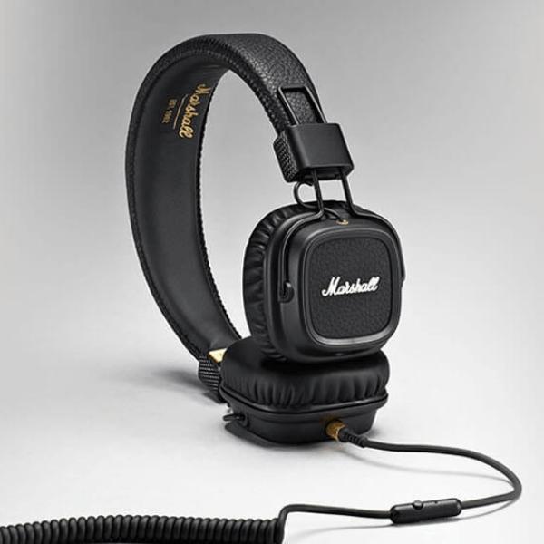 Luxusní sluchátka MARSHALL Major II - černé