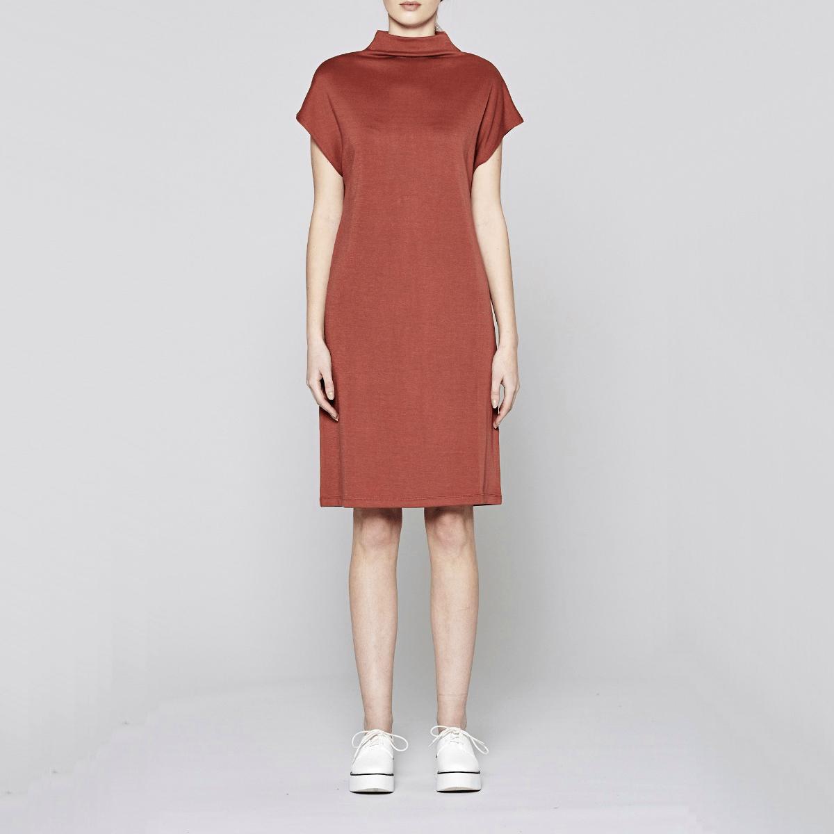 Červené šaty - Block - L