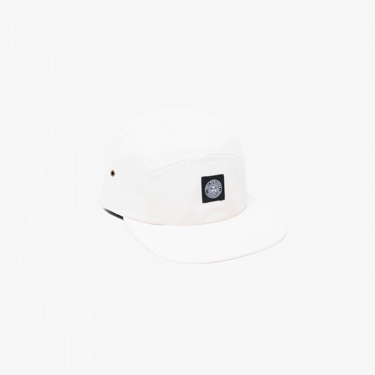 Bílá kšiltovka OBEY Clothing - Tomas 5 Panel