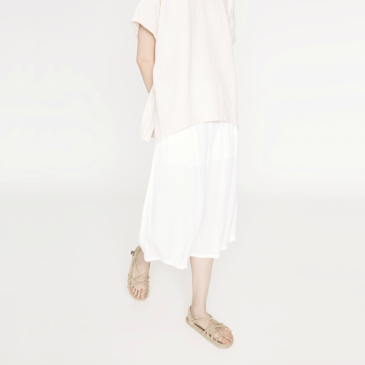 Bílé kalhoty - S